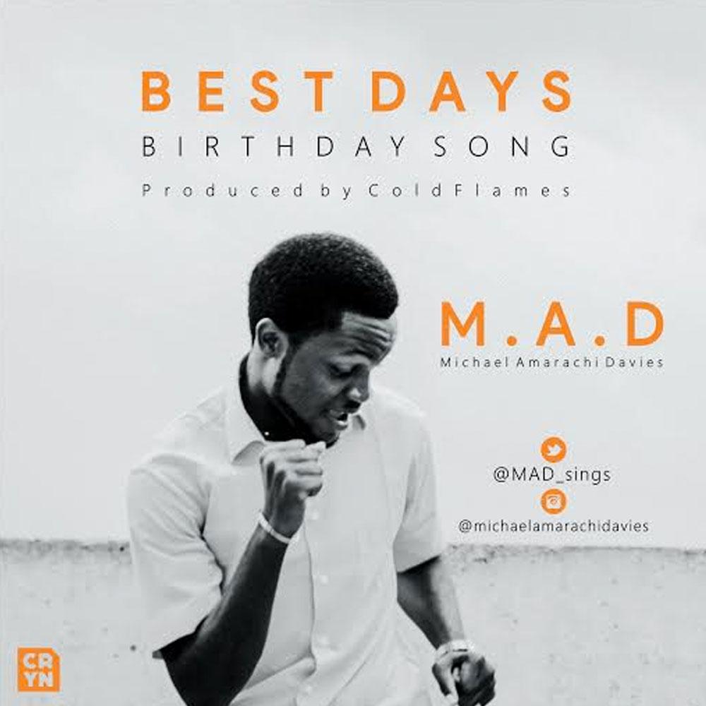 [Download & Lyrics] Best Days (Birthday Song)