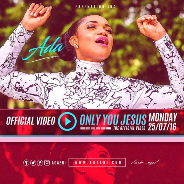 Only You Jesus – Ada Ehi