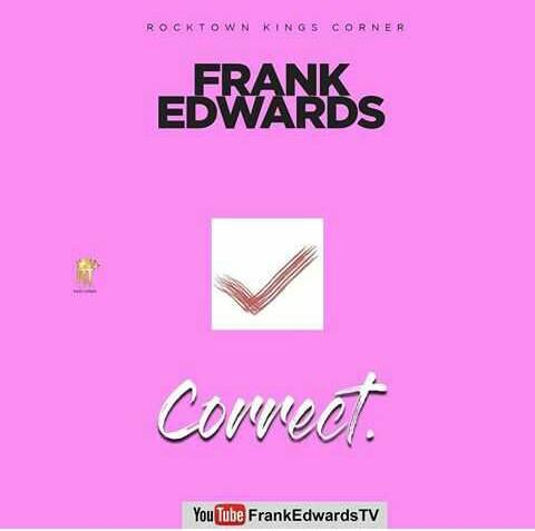 Correct – Frank Edwards
