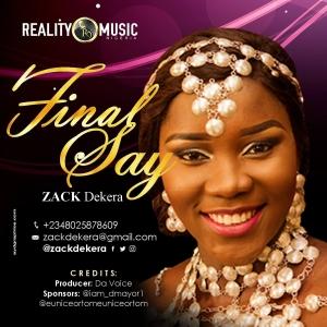 Final Say Medley – Zack Dekera