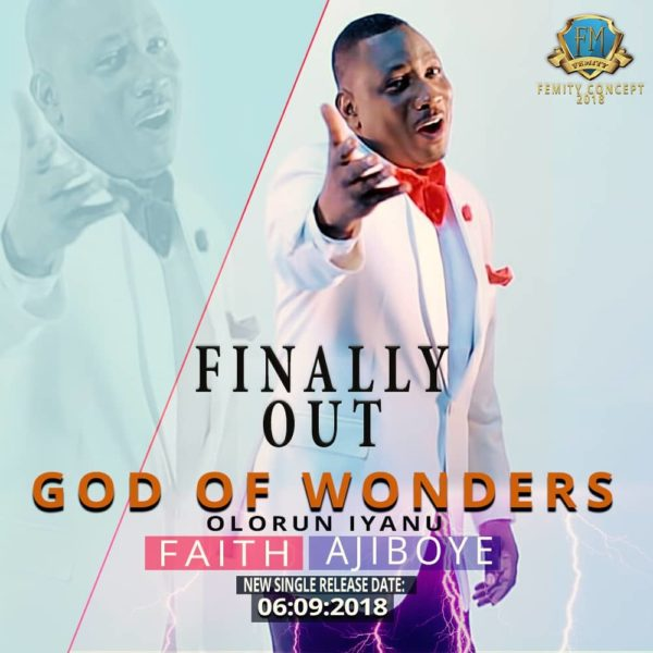 God of wonders – Faith Ajiboye