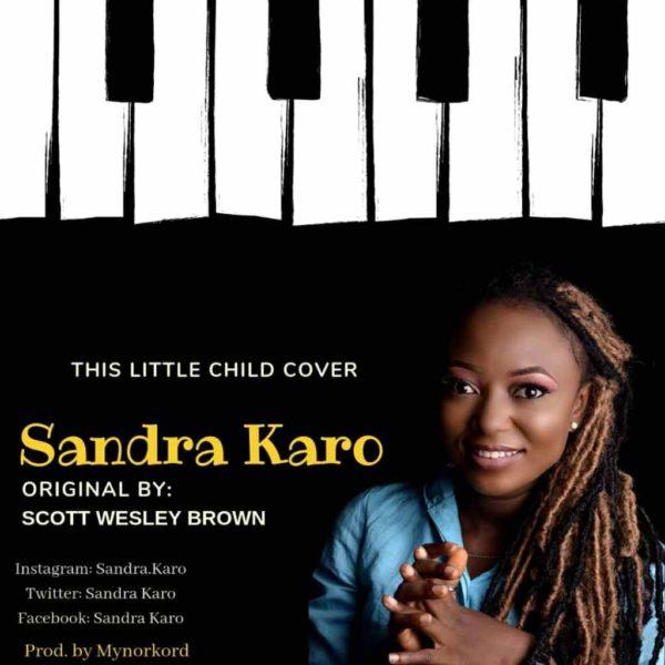 This little child (cover) – Sandra Karo